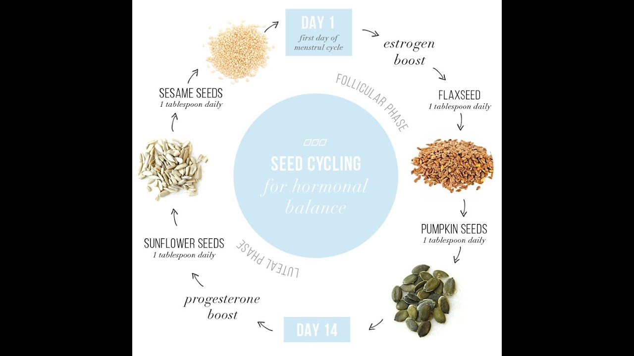 Seed Cycling for Hormone Balance - Holistic Health Herbalist