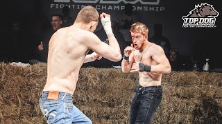 Wushu Master vs. Valera Zabotin/ bare-knuckle fight/ Main Event/ TDFС 3