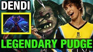 LEGENDARY PUDGE !! -DENDI - Dota 2