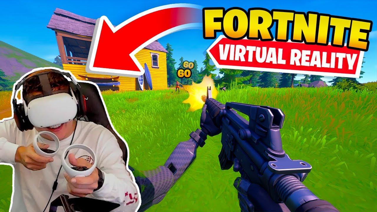 Playing Fortnite In Vr Oculus Quest 2 Youtube 2 350 418 просмотров 2,3 млн просмотров. playing fortnite in vr oculus quest 2