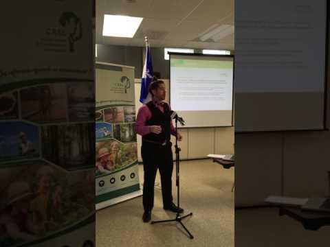 Conférence de presse Par notre propre énergie - Gabriel Meunier