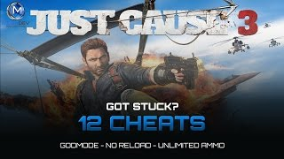 Just Cause 3 Cheats: Unlimited Ammo, Godmode, … | Trainer by MegaDev
