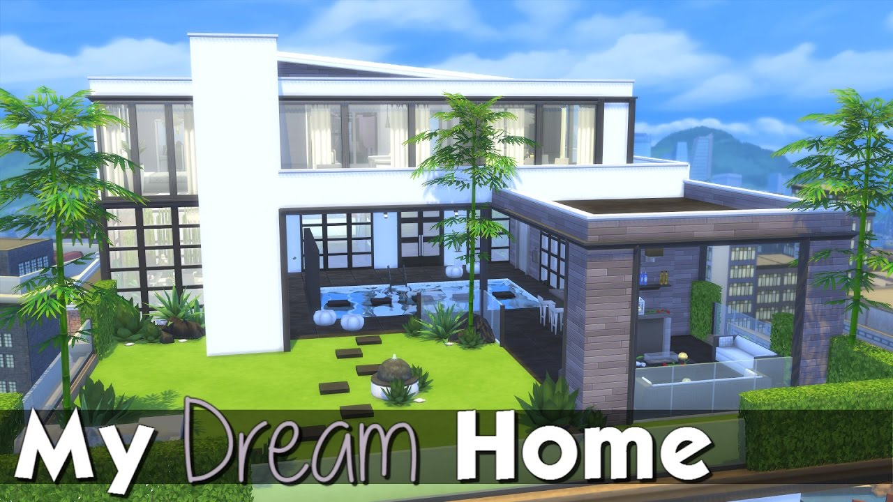 The sims 4 speed build modern penthouse my dream home youtube Dream house builder