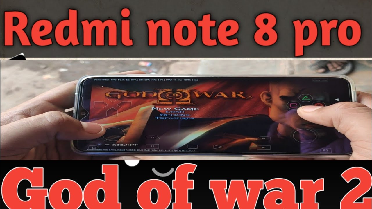 Download Redmi note 8 pro in god of war 2 gameplay ll Damon PS2 pro