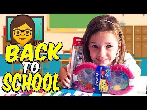BACK TO SCHOOL Haul 2018 - DAS braucht Lulu zum Schulstart 📗 Lulu & Leon