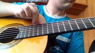 Испанский танец на гитаре