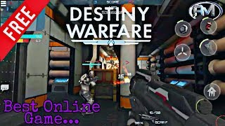 Destiny Warfare gameplay || Best online game || The Andro Master