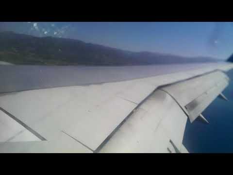 Kalamata Airport Landing