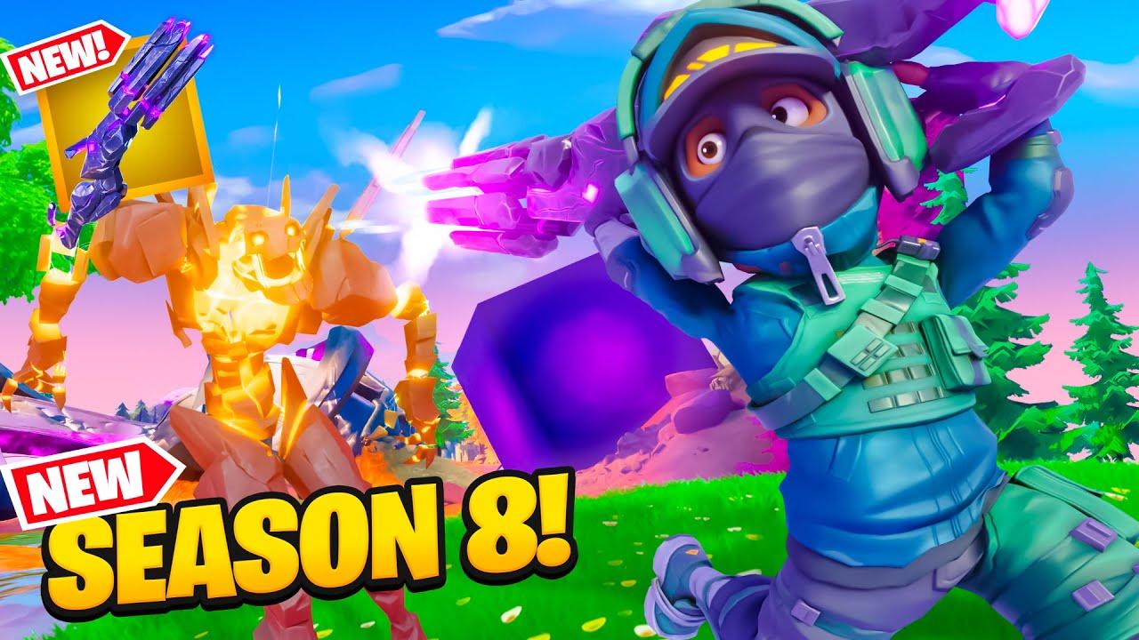 PlayTube Gaming:  NEW FORTNITE SEASON 8 IS HERE!