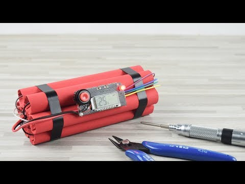 How To Make A Time Bomb Power Bank  - DIY
