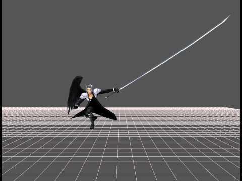 Dissidia 012「duodecim」Prologus - Sephiroth ~ Costume 3 *EX Mode* {Usable} »Model Animation« HD