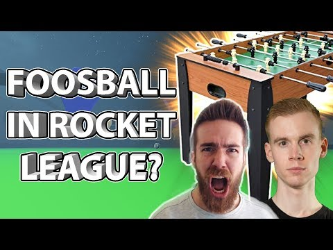 I CREATED A FOOSBALL TABLE IN ROCKET LEAGUE?! thumbnail