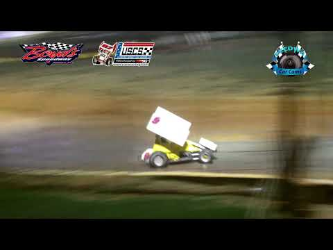 USCS Sprint Car Feature - 8-18-17 Boyd's Speedway - Dirt Track Racing