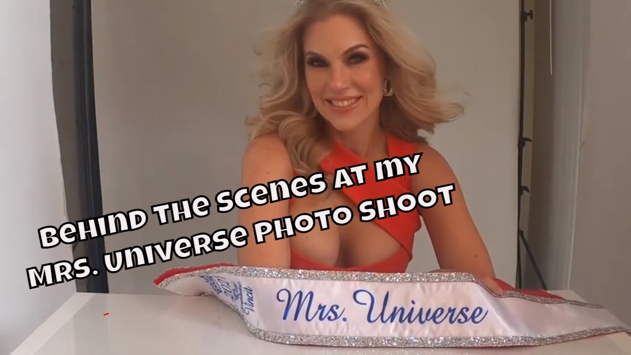 BTS at My Mrs. Universe Photo Shoot w/ Full Face of Charlotte Tilbury