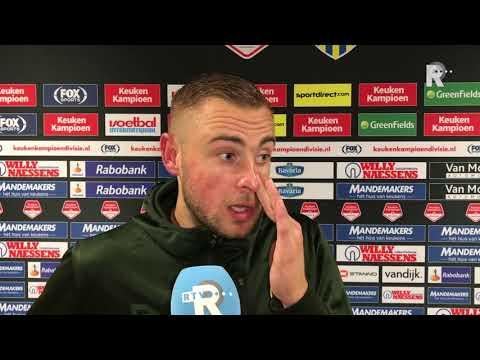 Roy Kortsmit na RKC-Sparta (1-0): 'Dit was de perfecte wedstrijd voor een keeper'