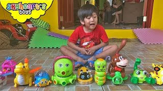 Bump and Go Animal toys for toddlers - Playtime with electronic animals sounds and lights for kids