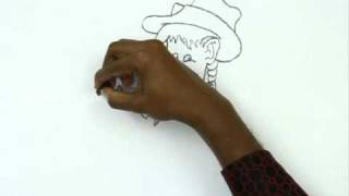 How to Draw a Chubby Cowgirl