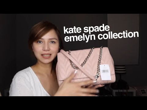 Kate Spade Emilyn Collection Review!!! must see!!!