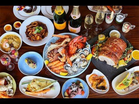 Edge at Pan Pacific Singapore – Theatrical Sunday Champagne Brunch