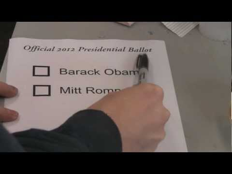 How To Vote In The 2012 Presidential Election