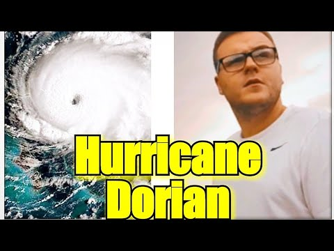 Hurricane Dorian Is Coming Right At Me !!!