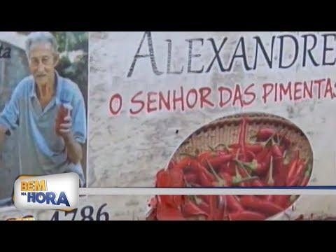 """Conheça a história do """"Tio da Pimenta"""" de Araçatuba"""