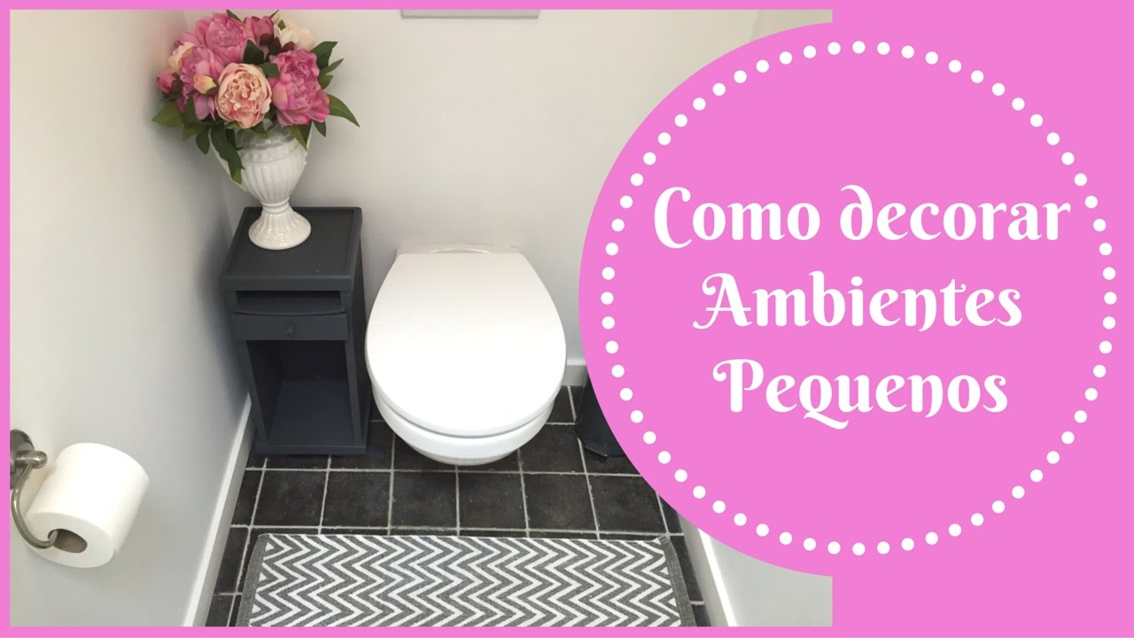Como decorar ambientes pequenos toilet wc katherinne for Como decorar ambientes pequenos
