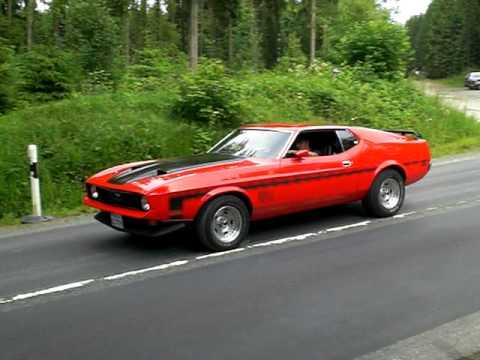 Pontiac Firebird 1975 And Mustang Mach 1 1972 Youtube