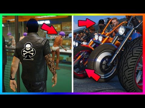 NEW GTA 5 DLC FEATURES, HIDDEN DETAILS & EVERYTHING YOU MISSED IN GTA ONLINE BIKERS UPDATE REVEAL!