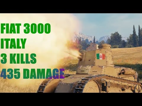 #1-wot-scraps-tier-i:-fiat-3000-italy-3k-435d:-world-of-tanks