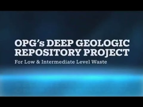 OPG's Deep Geological Repository