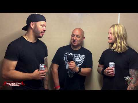 Those Damn Crows Interview @ Steelhouse Festival 2018