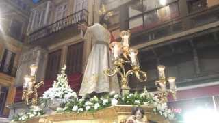Traslado del Señor de la Cena. Corpus Málaga 2013. CCTT Esperanza