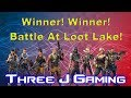Fortnite Battle Royal Squads WINNER WINNER! Battle at Loot Lake!