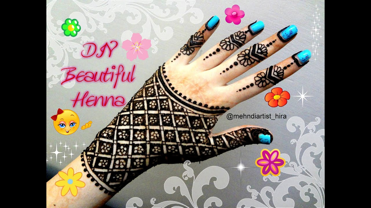Latest mehndi designs 2016 2017 top 47 mehndi styles - Easy Simple Beautiful Henna Hand Glove Mehndi Designs For Hands Tutorial For Eid Weddings Etc Youtube