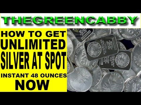 HOW TO GET UNLIMITED SILVER AT SPOT PRICE NOW - 48 OUNCES OF CHEAP SILVER STACKING STACK IT NOW