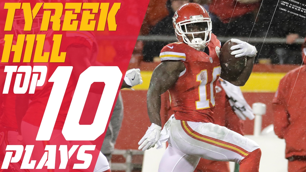 Tyreek Hill s Top 10 Plays of the 2016 Season