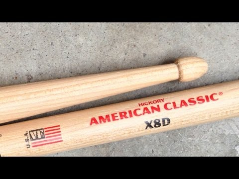 """Product Spotlight: American Classic® """"Extreme"""" Drumsticks"""