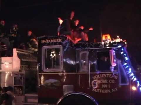 2012 Wallington,nj Fire Department Holiday Parade part 2 of 4 - YouTube