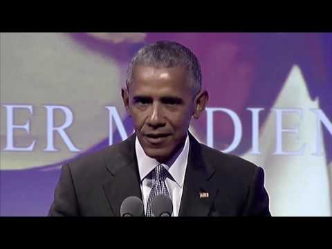 Obama delivers message of solidarity and hope in Europe