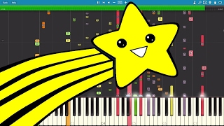 IMPOSSIBLE REMIX - Shooting Stars Meme - Piano Cover - Bag R...