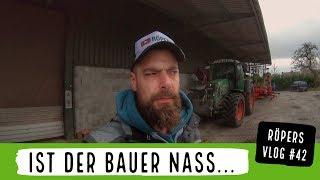 Ist der Bauer nass...