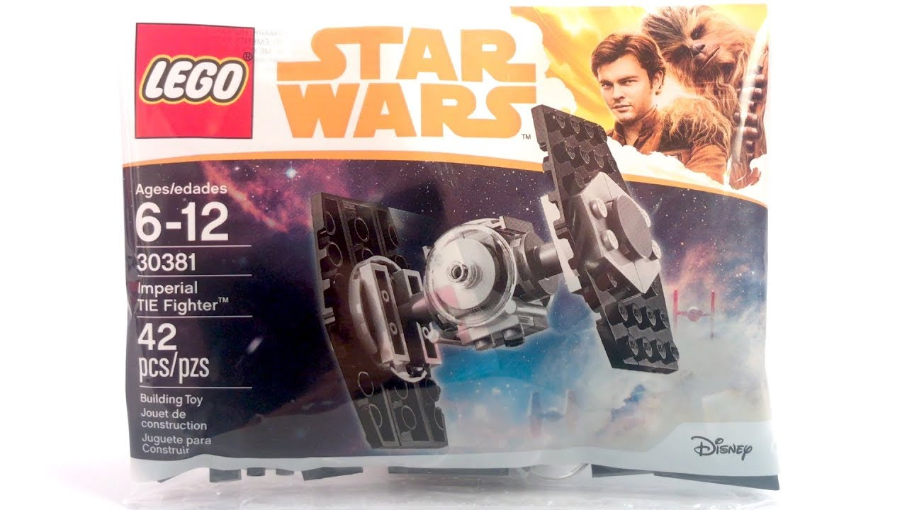 NEW LEGO Star Wars 30381 Imperial Tie Fighter Review! | Han Solo Movie 2018 Polybag!
