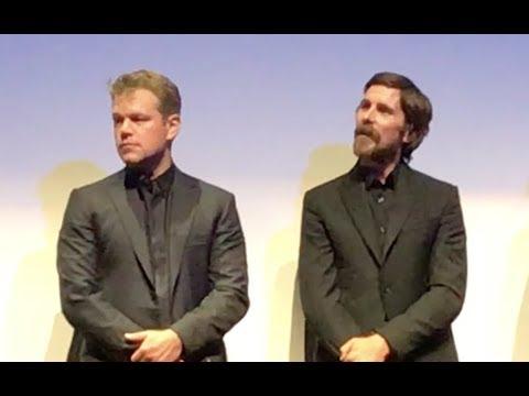 'FORD V FERRARI' Movie Premiere Q&A with Christian Bale & Matt Damon