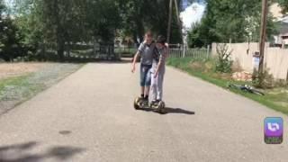 Rakido проехать на скутере в двоём