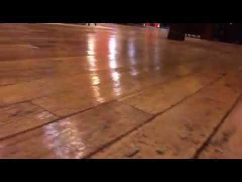 Hardwood Floor Repaired After Buckling Up Appearance Youtube