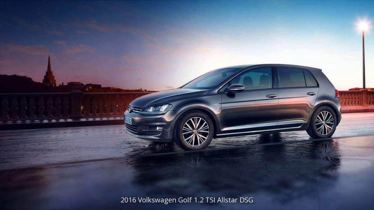2016 volkswagen golf 1 2 tsi allstar dsg pictures youtube. Black Bedroom Furniture Sets. Home Design Ideas