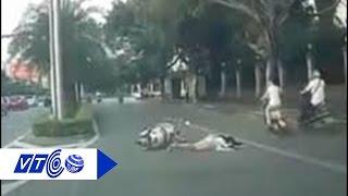 Đuổi cướp, cô gái ngã xe tử vong   VTC