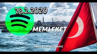 Saz Turkish - ►MEMLEKET◄ New Deep Rap Beat 2018 - (Prod by Samoobeatz)