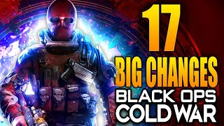Black Ops Cold War: 17 Big Changes In The Mid Season Update!